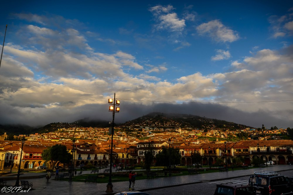 Beautiful Cusco in the morning