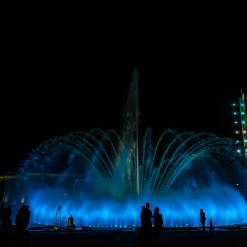 Magical fountains