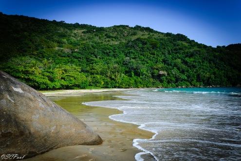 The beautiful Lopes Mendez beach